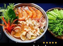 Cách nấu lẩu thái hải sản