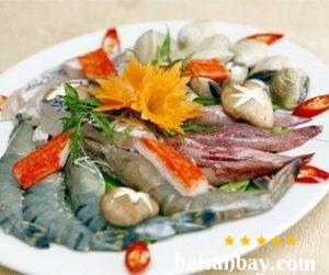Nguyên liệu chế biến lẩu hải sản