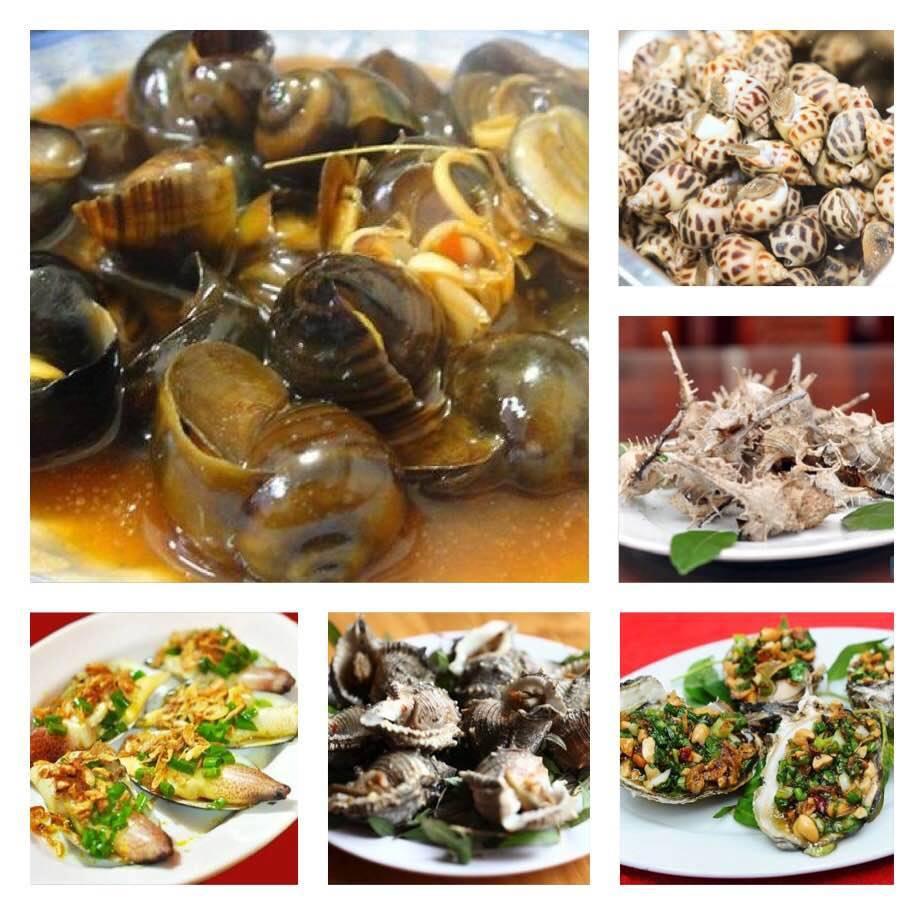 Hải sản ốc xào me Phi Hùng